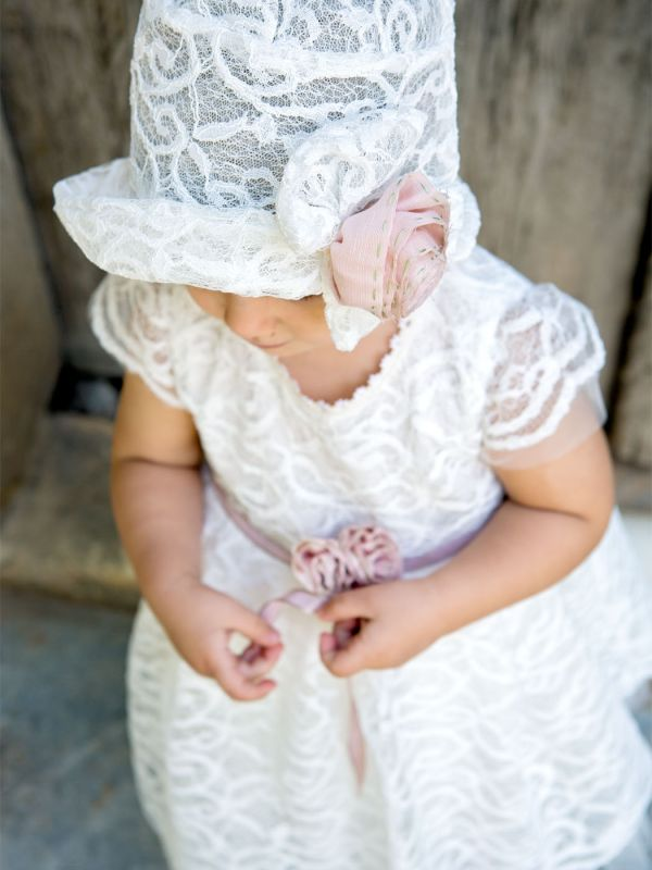 cab333e9136 Φόρεμα Βάπτισης Alison Ivory Designer's Cat - Happy Events Αίγινα