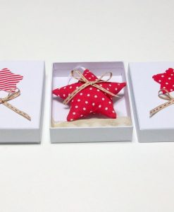 Μαξιλαράκι αστέρι δώρο σε κουτί