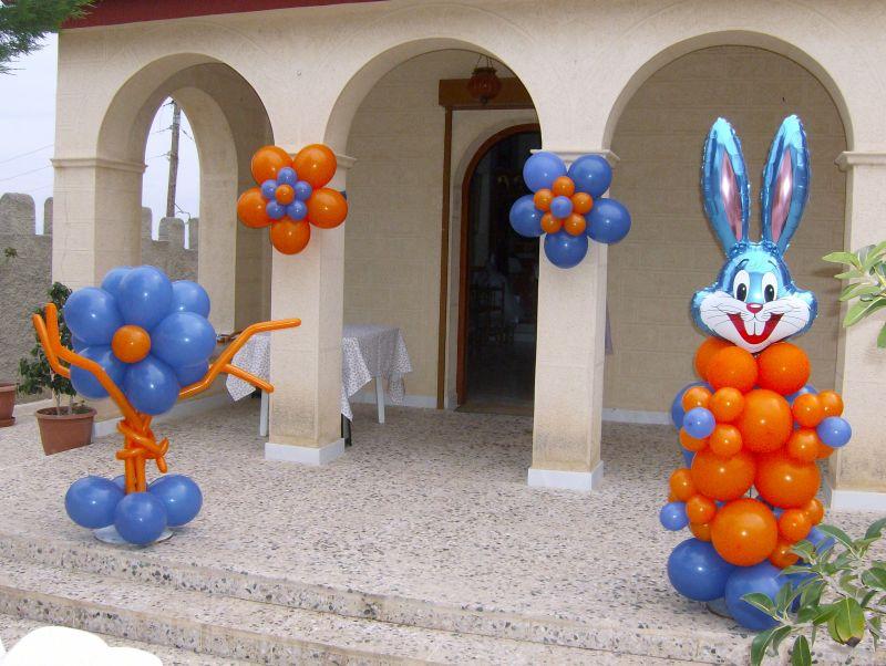 Διακόσμηση, στολισμός με μπαλόνια