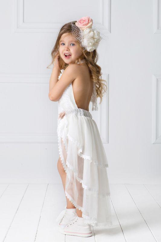 6037a4573ee Φόρεμα Βάπτισης Brigitte Designer's Cat - Happy Events Αίγινα